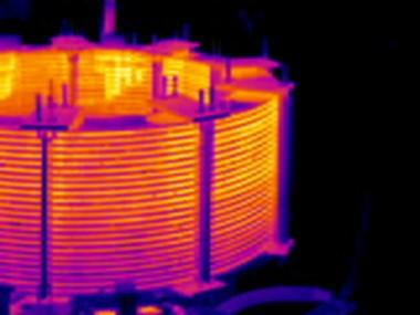 obraz termowizyjny dławika